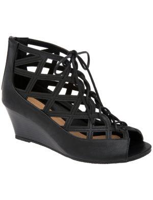 Ghillie wedge sandal