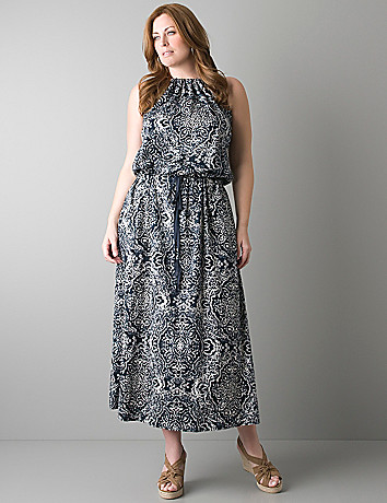 Turmec » plus size halter maxi dresses for women