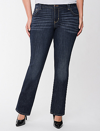 Plus size bootcut jean by Lane Bryant