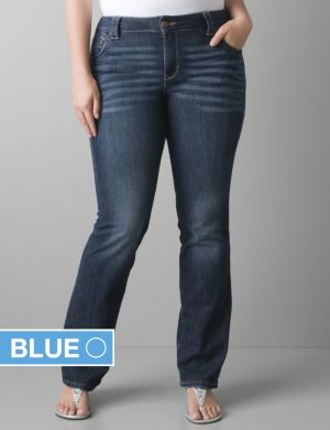 Distinctly Boot jean with Right Fit Technology
