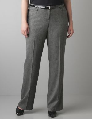 Herringbone pant with Tighter Tummy Technology