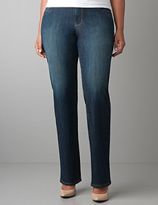 Genius Fit™ straight leg jean