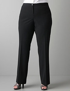 Classic trouser with T3 Tighter Tummy Technology by Lane Bryant