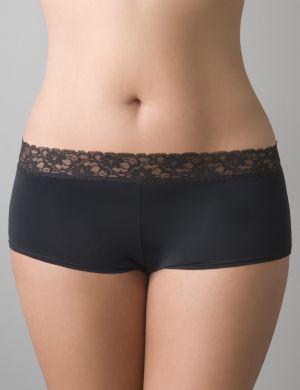 Beautiful lace waist boyshort panty