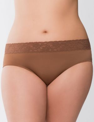 Beautiful lace waist hipster panty