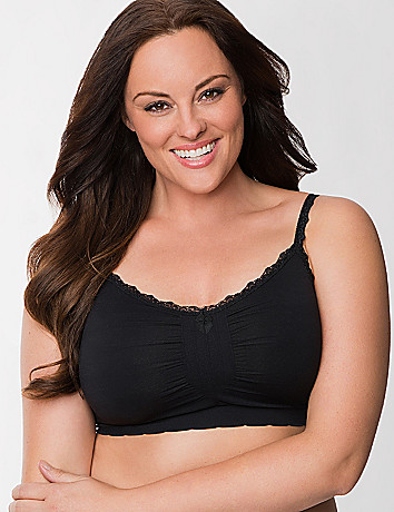 No wire seamless sleep bra by Cacique