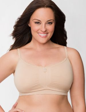 No-wire seamless sleep bra