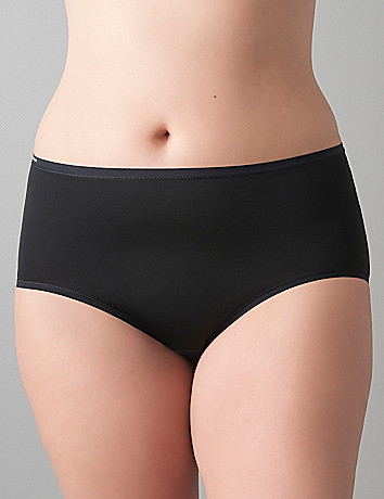 Tailored brief panty by Cacique