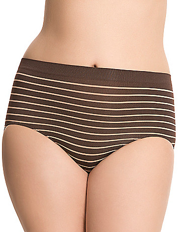 Tailored seamless high leg panty by Cacique