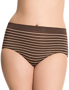 Seamless tailored high-leg panty by Cacique