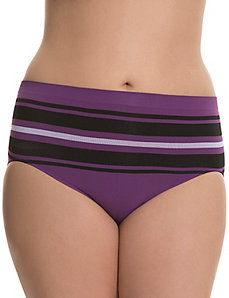 Seamless tailored high-leg panty