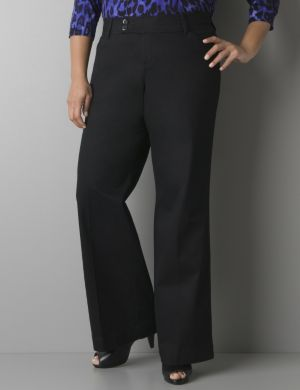 Twill pant with Tighter Tummy Technology