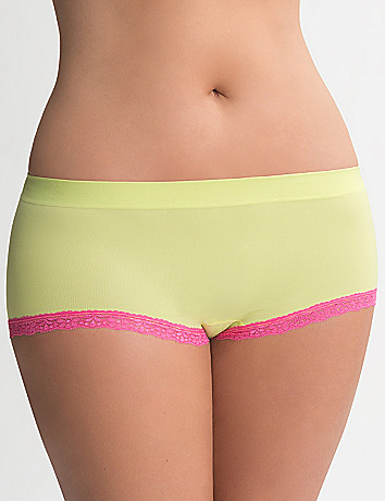 Seamless boyshort panty by Cacique