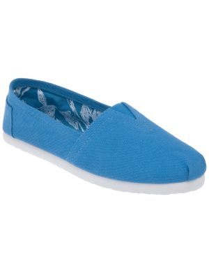 Casual canvas flat