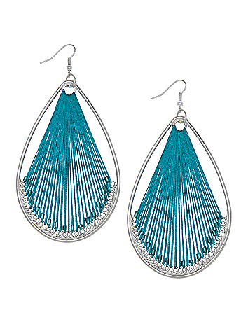 Teardrop dream catcher earrings by Lane Bryant