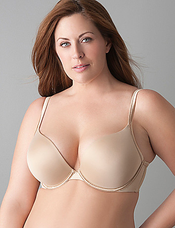 Smooth boost plunge bra by Cacique