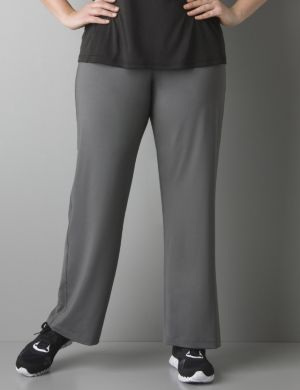 Exposed elastic waist fitness pant by Reebok®