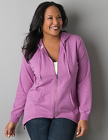Sharkbite hoodie jacket by Lane Bryant