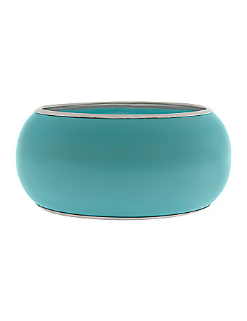 Enamel bangle bracelet by Lane Bryant