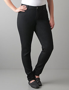 Black skinny jean by Lane Bryant