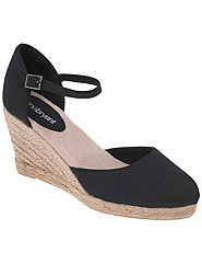 Mary Jane espadrille by Lane Bryant