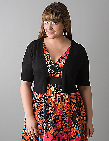 Elbow sleeve shrug by Lane Bryant