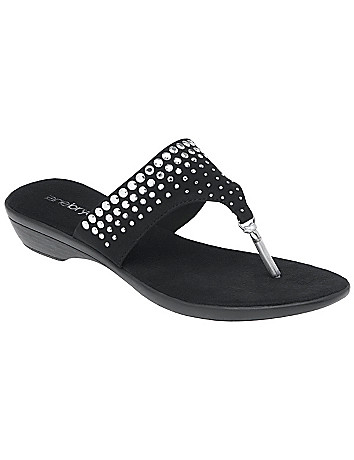 Embellished sandal by Lane Bryant
