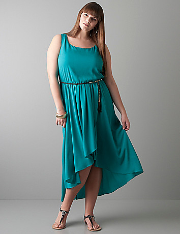 High low hem dress by Lane Bryant