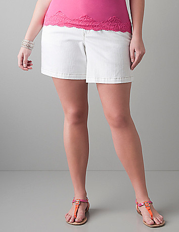 Core denim short by Lane Bryant