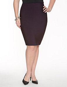 Knit bandage skirt by Lane Bryant