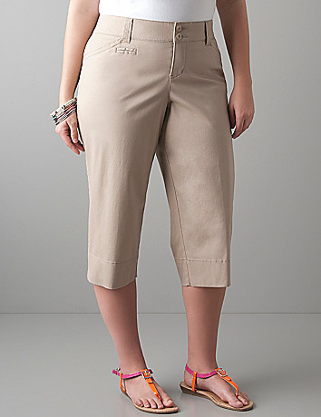 Trouser capri with Tighter Tummy Technology