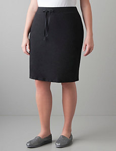 Knit active skirt by Lane Bryant