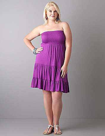 Convertible tube dress by Lane Bryant