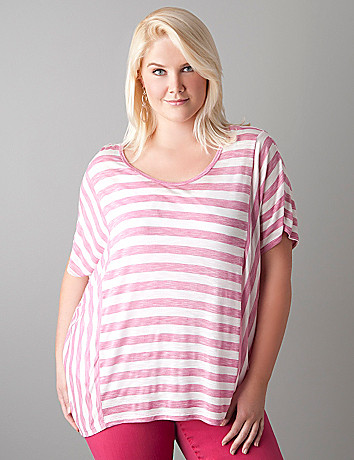 Striped dolman top by Seven7