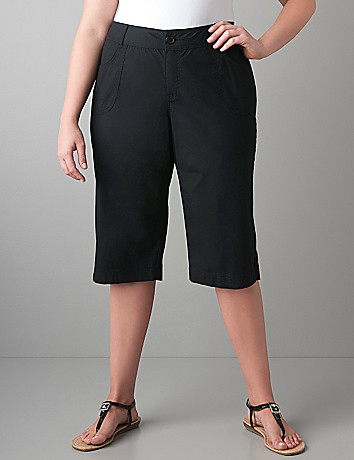 Womens plus size Pedal pushers by Lane Bryant