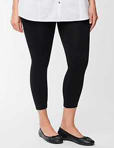 Control Top footless leggings by Lane Bryant