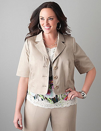 Plus size career blazer by Lane Bryant
