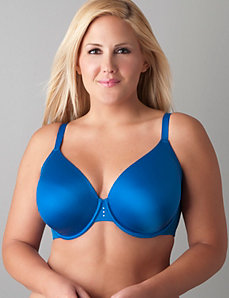 Expandable cup full coverage bra by Cacique