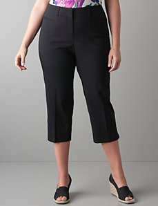 Slim fit cropped pant by Lane Bryant