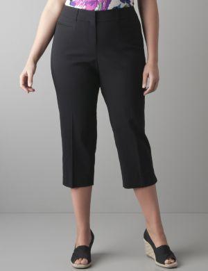 Slim fit cropped pant