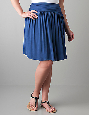 Full figure  knit skirt by Lane Bryant