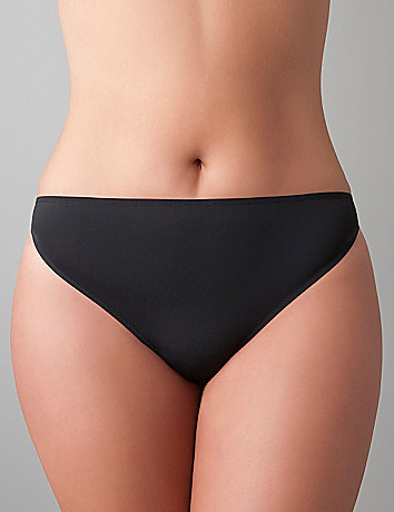 Strappy thong panty by Cacique