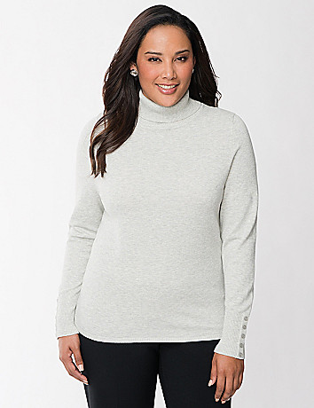 Full Figure Turtleneck Sweater by Lane Bryant