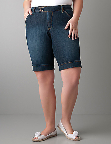 Plus size Bermuda shorts by Lane Bryant