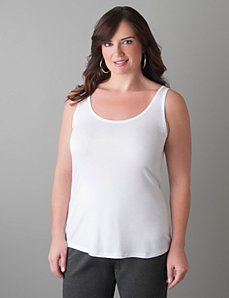 Scoop neck tank by Lane Bryant