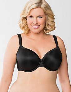 Lightly lined French full coverage bra by Cacique