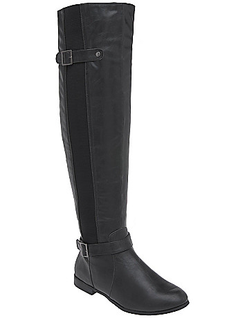 Over the knee stretch boot by Lane Bryant