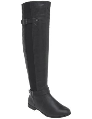 Over the knee stretch boot