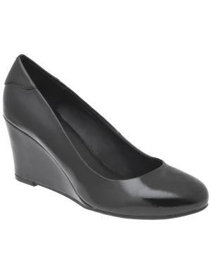 Patent wedge heel