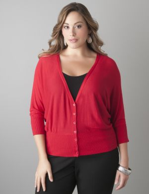 Dolman sleeve lightweight cardigan